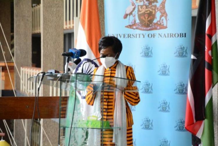 Chair of Council. Prof. J. Ojiambo