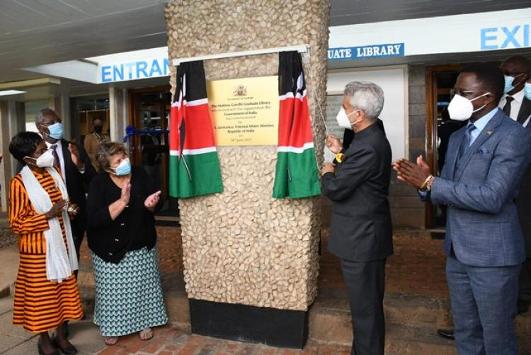 Commissioning of UoN Library
