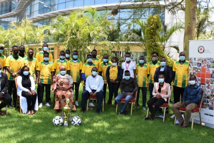This is Kenya Red Cross National Football team