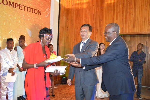 ruth kimani winner of chinese bridge competition